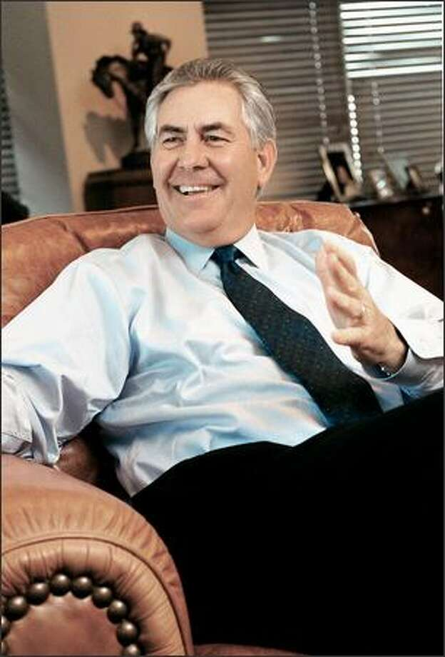 Texas-born Rex Tillerson succeeded Lee Raymond as Exxon chairman and chief executive Jan. 1. Photo: / Associated Press