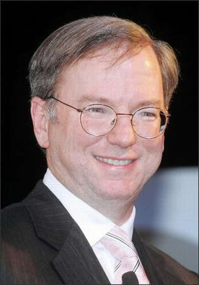 CEO Eric Schmidt says there are plenty of good browsers out there for computer uses. Photo: / Bloomberg News