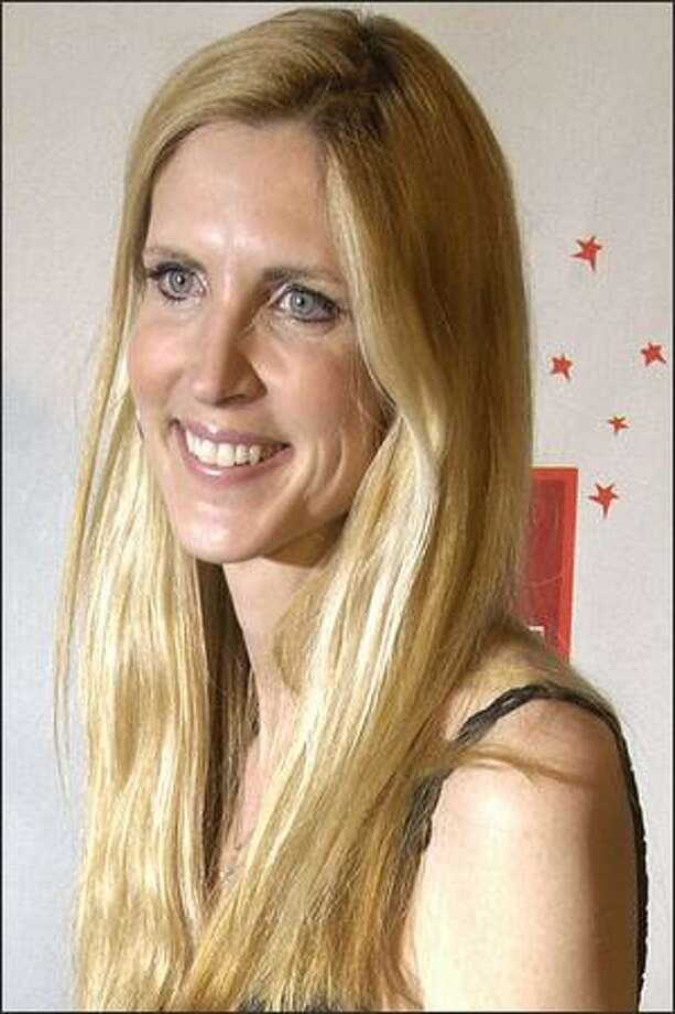 """Ann Coulter, seen in this file photos, called the group of outspoken 9/11 widows who pushed for the commission to investigate the attacks """"self-obsessed"""" and said they act """"as if the terrorist attacks happened only to them"""" on NBC's """"Today"""" show on Tuesday. Photo: / Associated Press"""