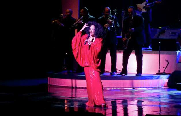 Diana Ross performs in a benefit concert for the Stamford Center for the Arts 2011 Arts Education Program at the Palace Theatre on Atlantic Street in Stamford, Conn., March 18, 2011. Before the concert Frank J. Mercede was presented with the SCA Arts Ovation Award. Photo: Keelin Daly / Stamford Advocate