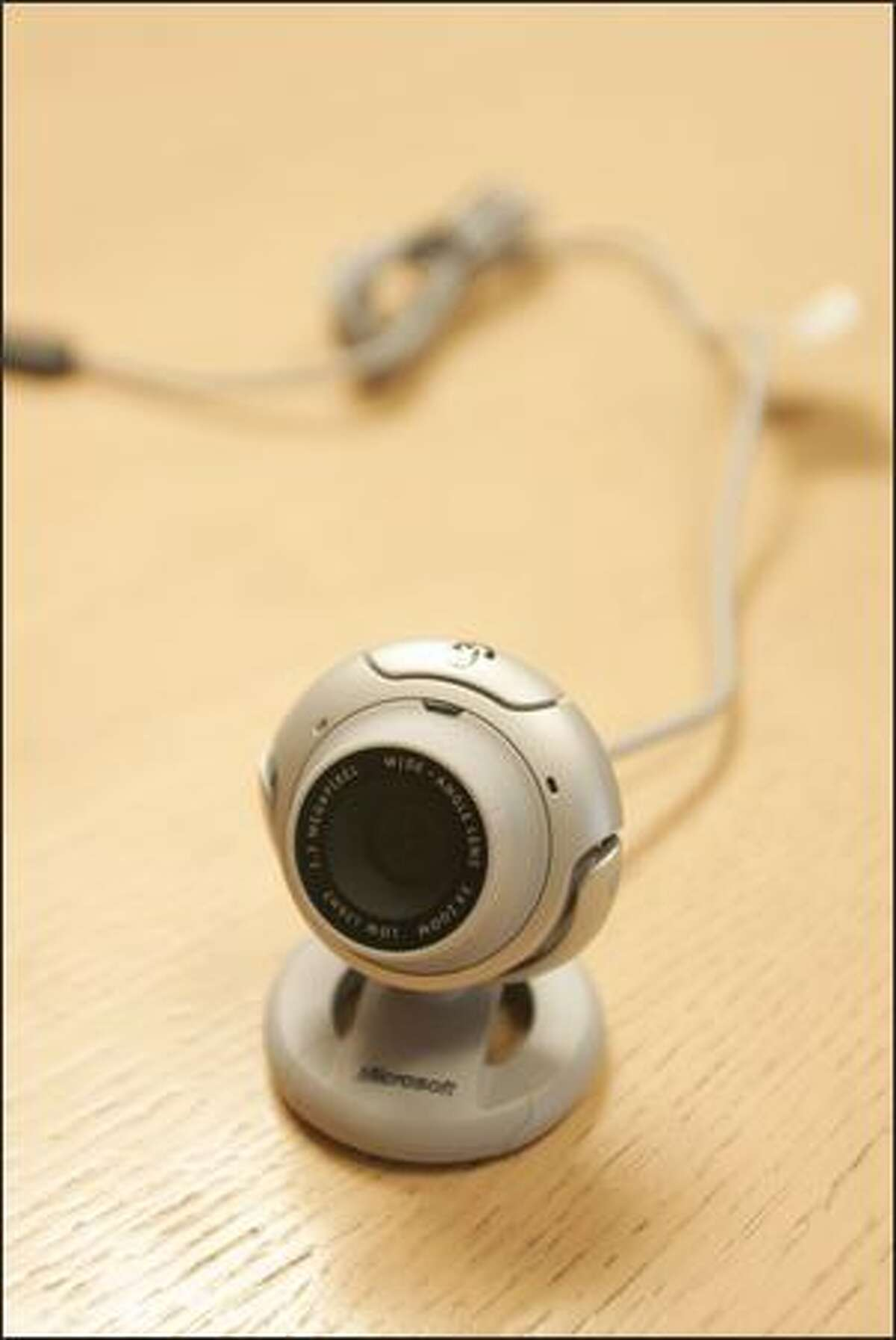The LifeCam is closely tied to Windows Live Messenger.