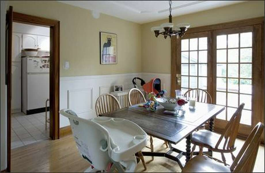 This Dining Room Had Barely Enough For The Table And Chairs Photo