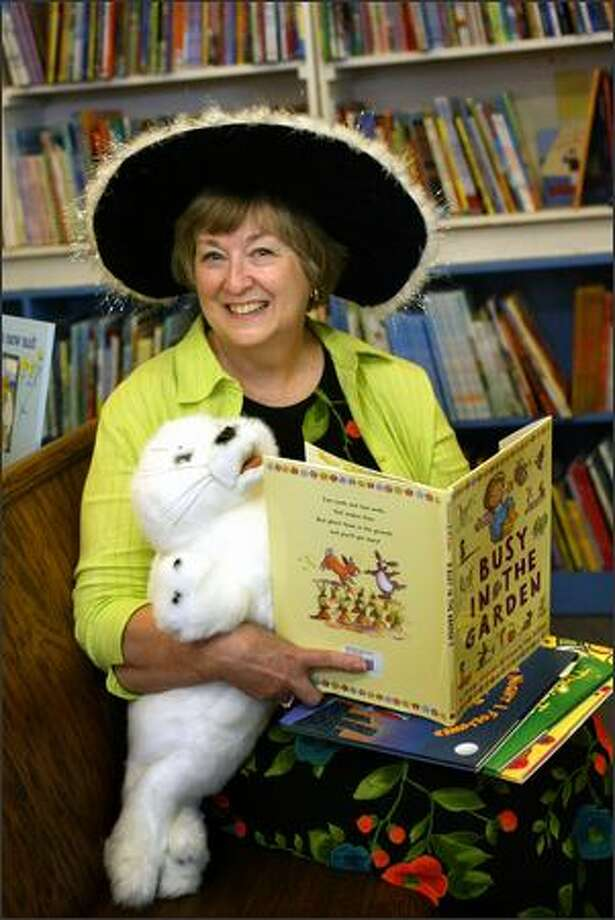 Chauni Haslet, owner of the store and a literary matchmaker for kids. Photo: Karen Ducey/Seattle Post-Intelligencer