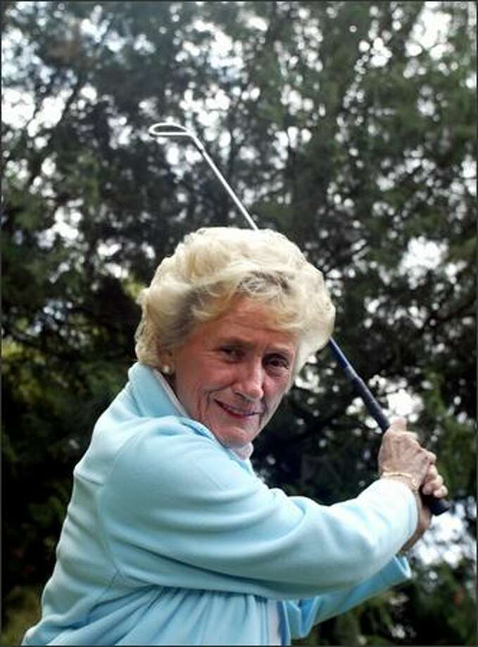 Seattle native Ruth Jessen, who made her LPGA Tour debut 50 years ago at age 19, has been a golf instructor in Arizona for the past three decades. Photo: Karen Ducey/Seattle Post-Intelligencer