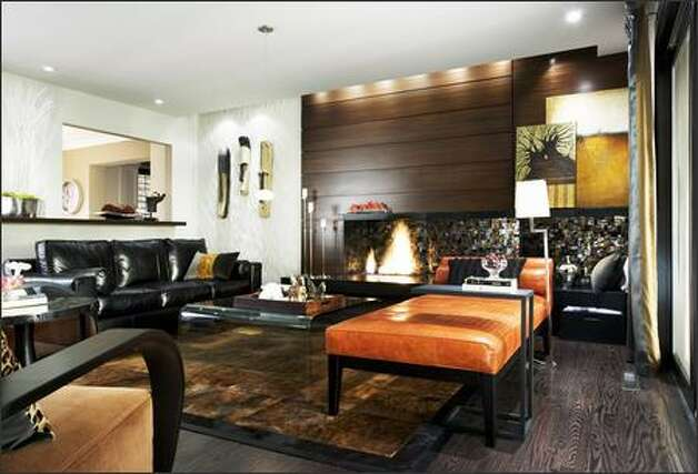 Divine design golf course home gets in the swing - Candice olson fireplaces ...