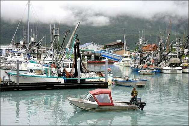 Oil greases wheels of the good life in valdez for those for Personal fishing boat