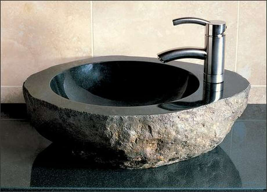 The $780 Natural Vessel is from Stone Forest, which specializes in granite work. Photo: /