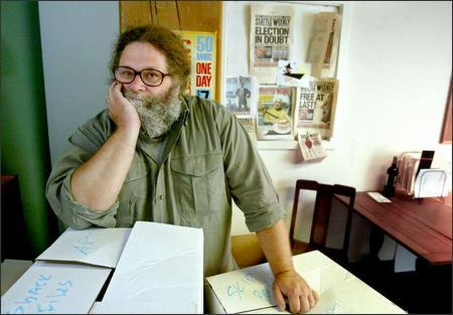 Editor Knute Berger is among at least 11 employees who recently left Seattle Weekly. Photo: Scott Eklund/Seattle Post-Intelligencer