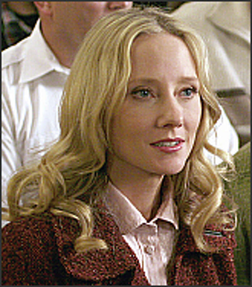 "Anne Heche gives relationship advice in ABC's ""Men in Trees."" Photo: ABC"