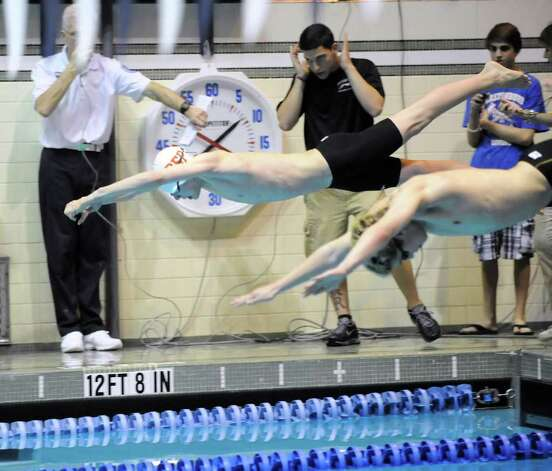Ridgefield Boys Take Third At State Open Swim Meet Newstimes