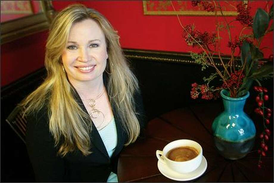 Penny Stafford believes Starbucks purposefully drove her small Bellevue espresso stand out of business and that exclusive leasing agreements kept her from finding a new place to open up shop. She has filed a lawsuit against Starbucks. Photo: Karen Ducey/Seattle Post-Intelligencer