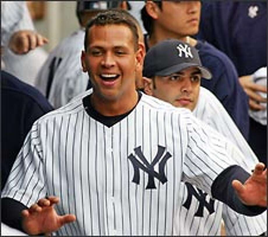 Alex Rodriguez, the AL's reigning MVP, is widely scorned in New York. Photo: AP / AP
