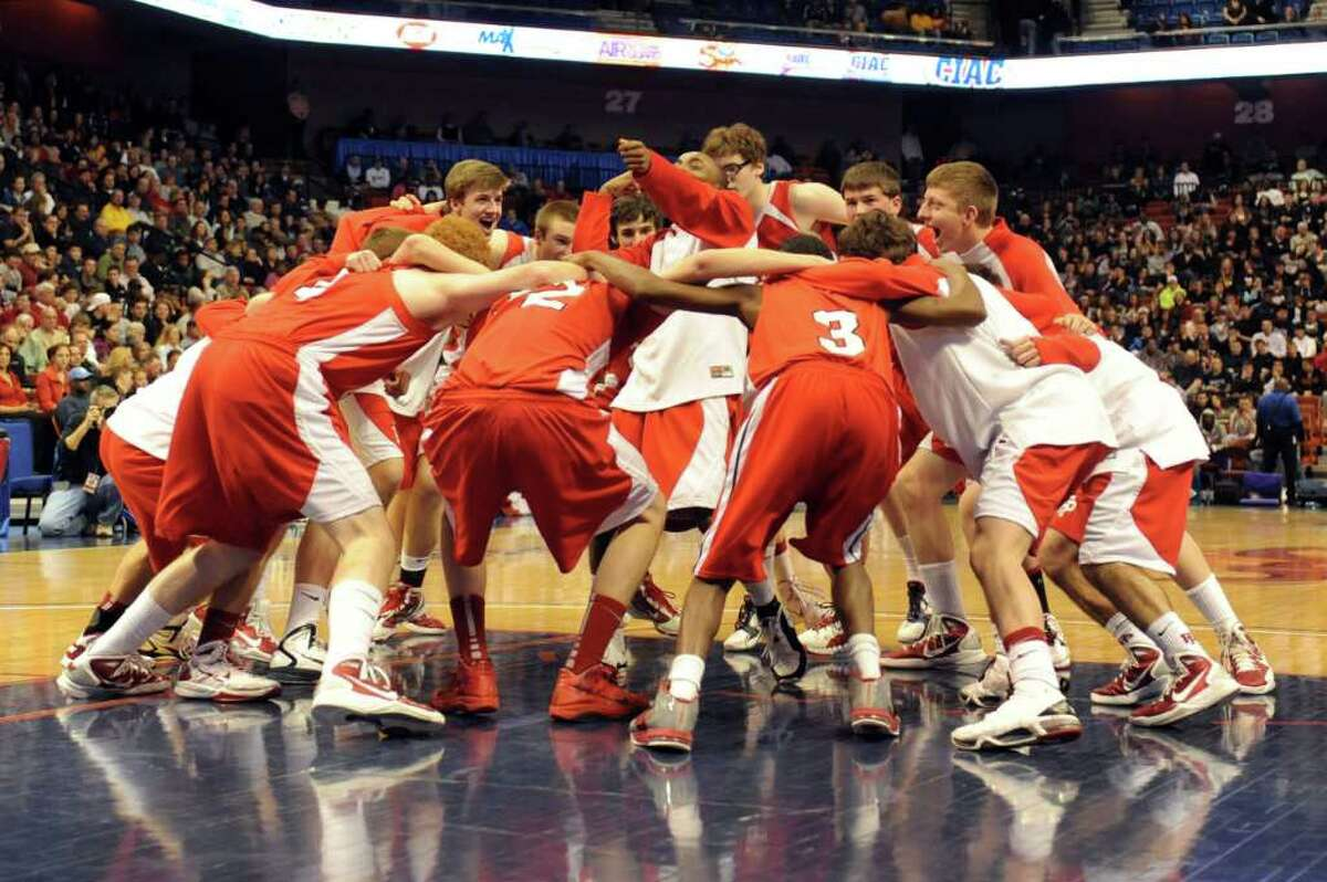 Saturday's Class LL State Final game between St. Joseph and Fairfield Prep High Schools at Mohegan Sun Arena on March 19, 2011.