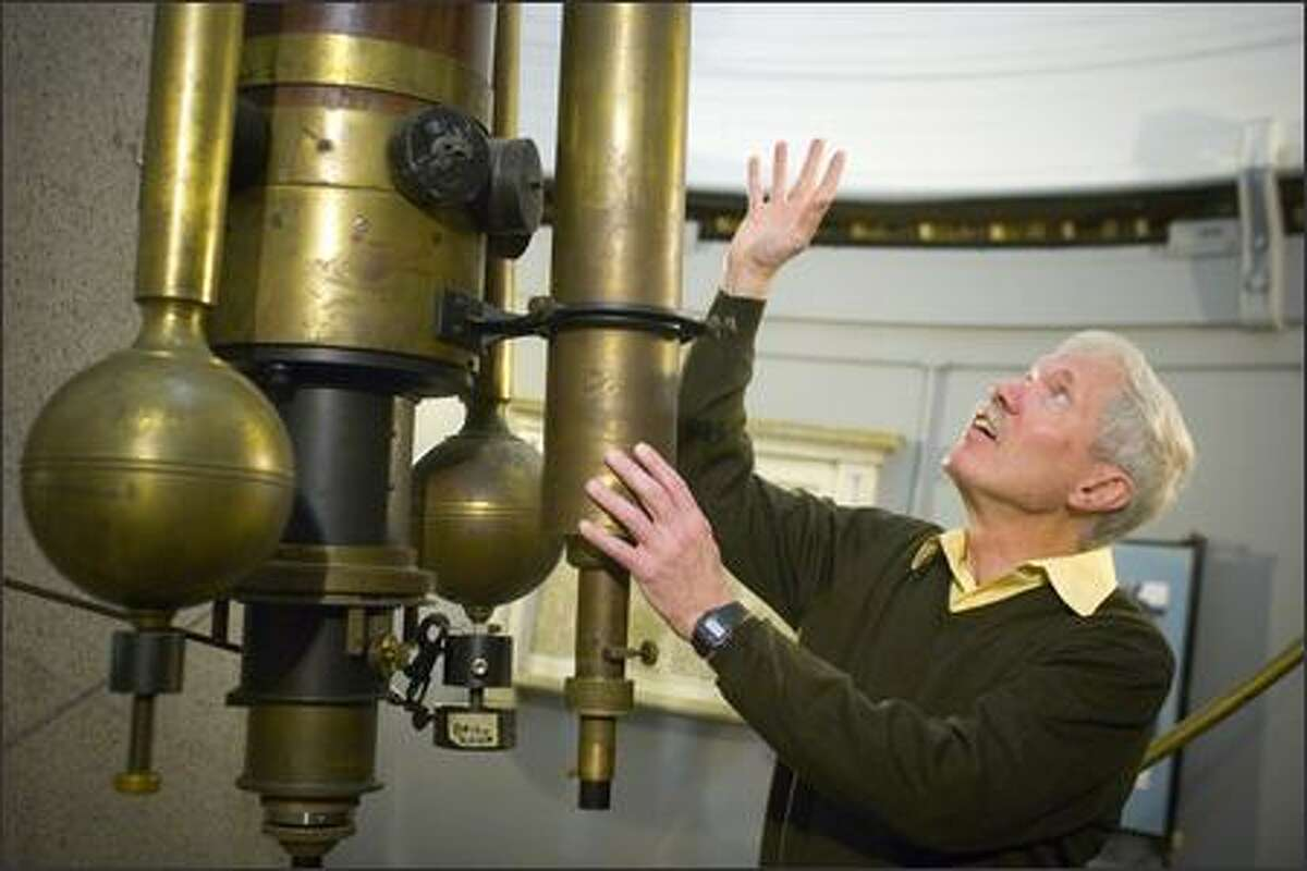 Jeffery McClintock's interest in astronomy ultimately led him to become senior astrophysicist at the Smithsonian Astrophysical Observatory in Cambridge, Mass. (Justin Ide / Harvard University News Office)
