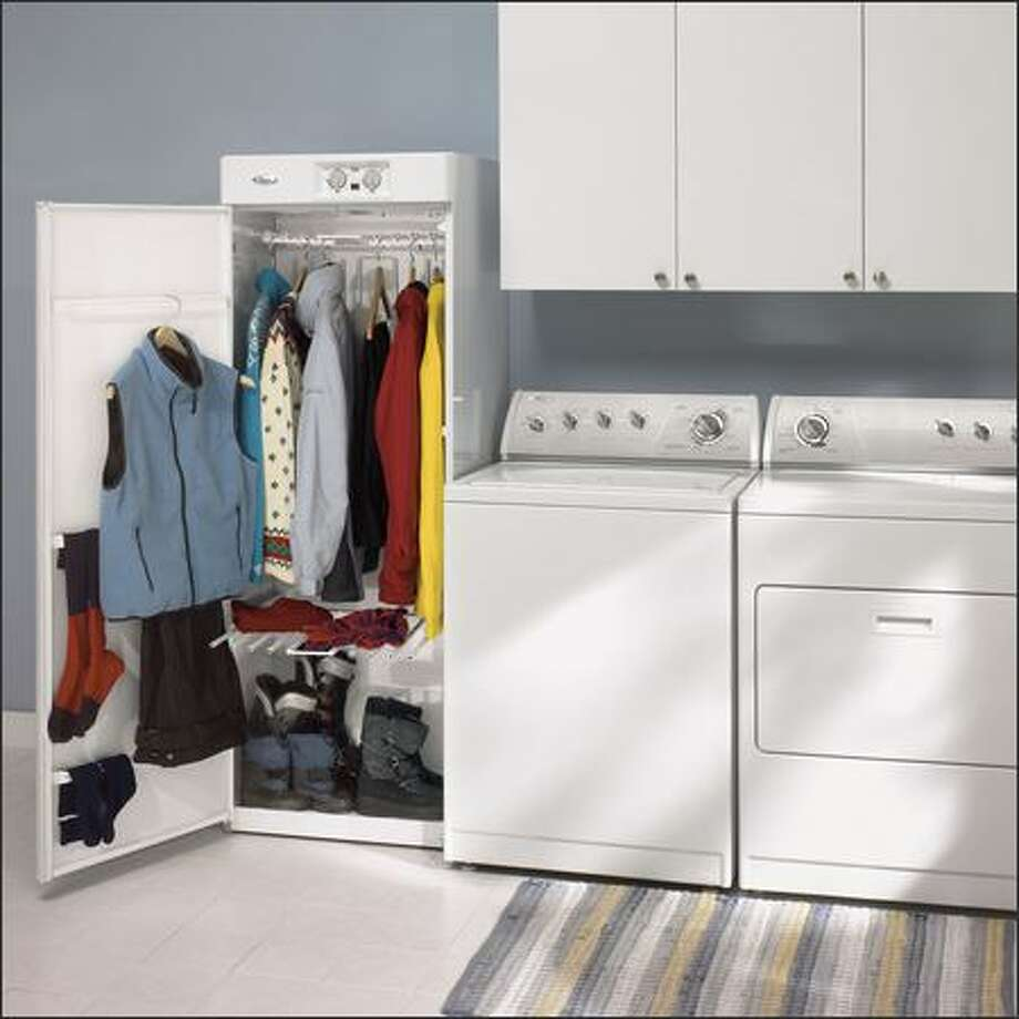 Drying cabinets will be among the new ideas on display at the show. Photo: WHIRLPOOL