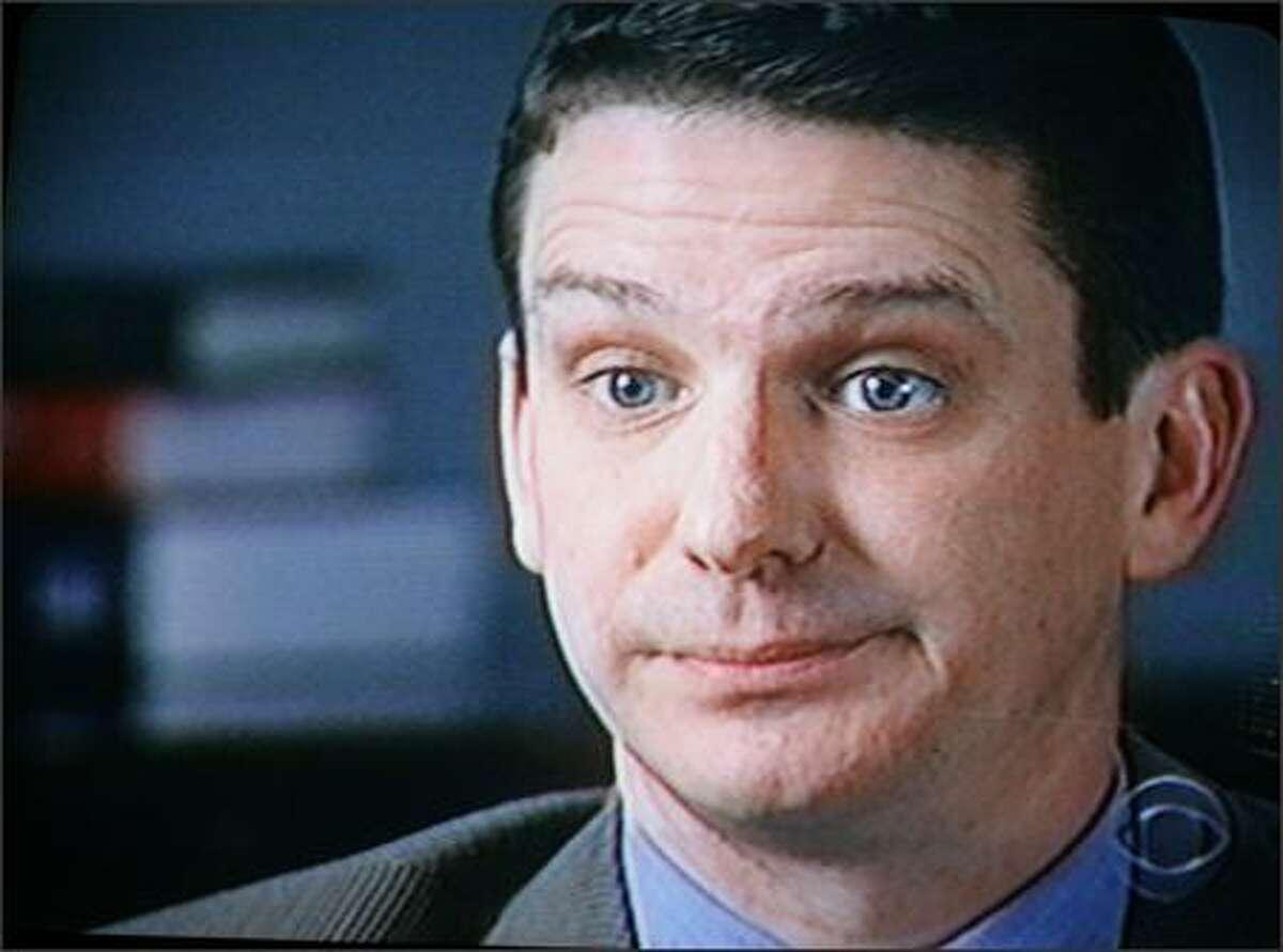 "John Bollard as shown on CBS' ""60 Minutes"" in 1999."