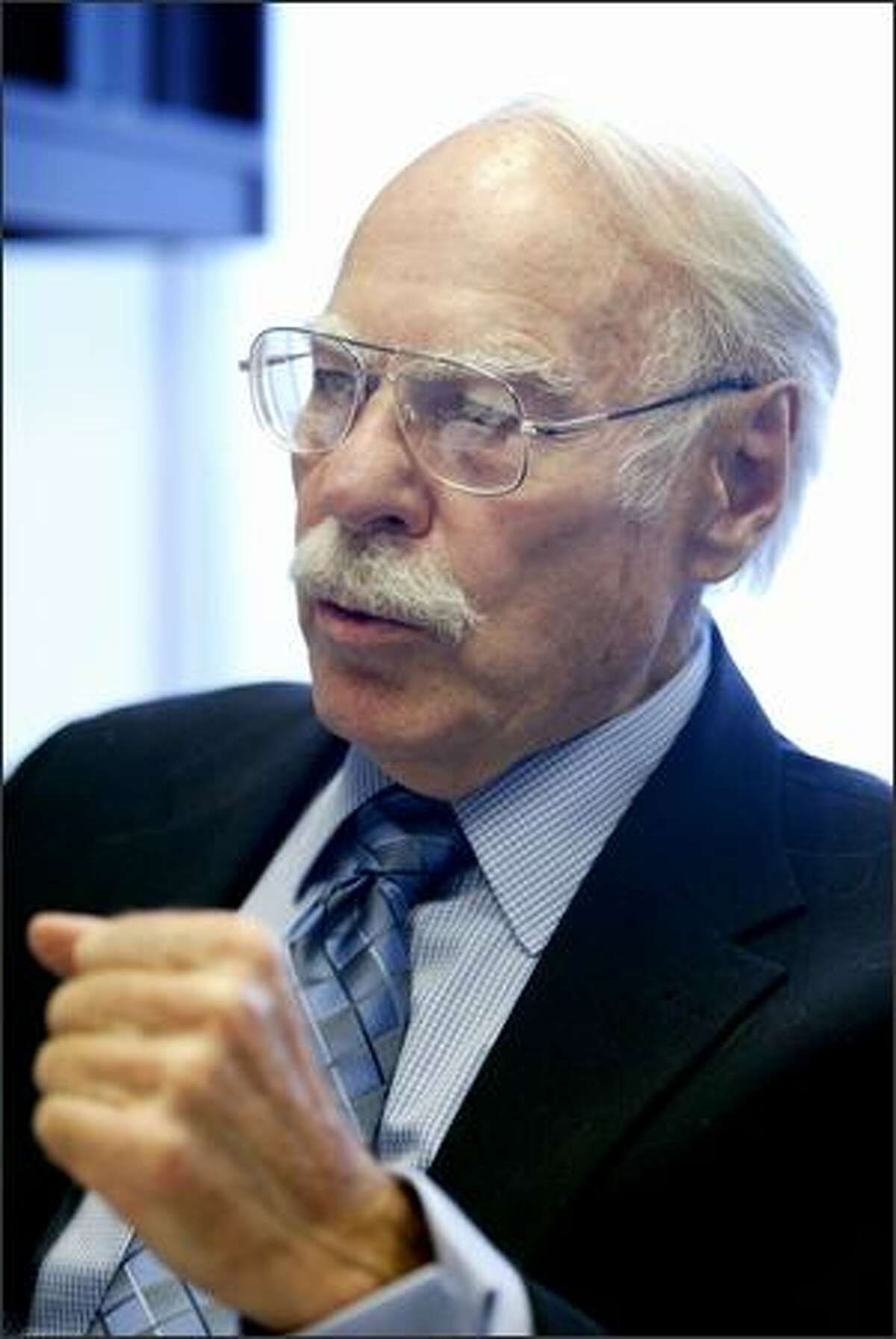 Former CIA spy Edwin Wilson, 78, spent 22 years in prison before he was freed in 2004 after a judge found that government officials hid evidence and lied in order to convict him of treason.