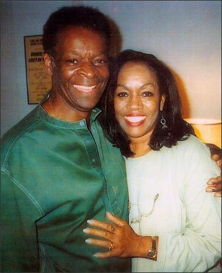 "Brock Peters, who starred in ""To Kill a Mockingbird,"" shown here with longtime companion Marilyn Cheatham Darby. Photo: BROCK PETERS FAMILY PHOTO"