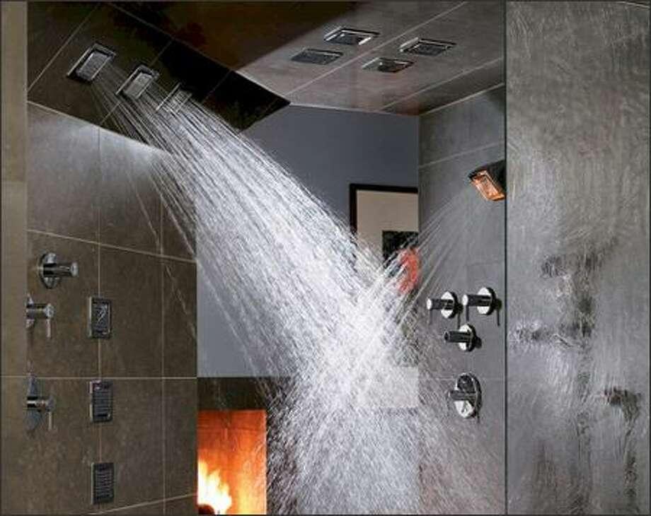 An example of Kohler Performance Shower heads. Photo: KOHLER