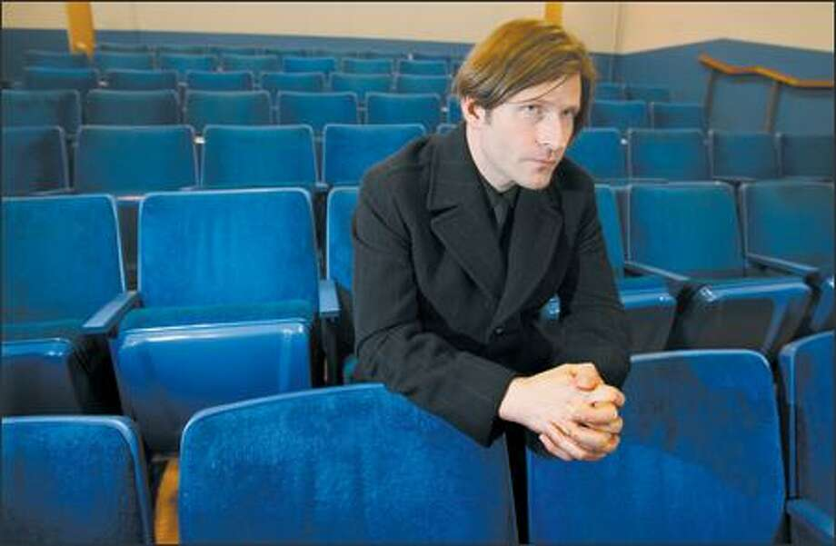 """In Seattle, actor Crispin Glover will conduct Q&A sessions after screenings of his nine-year labor of love, """"What Is It?"""" Photo: Scott Eklund/Seattle Post-Intelligencer"""