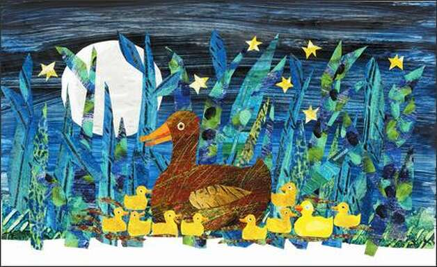 Author Eric Carle's renowned collage - 44.6KB