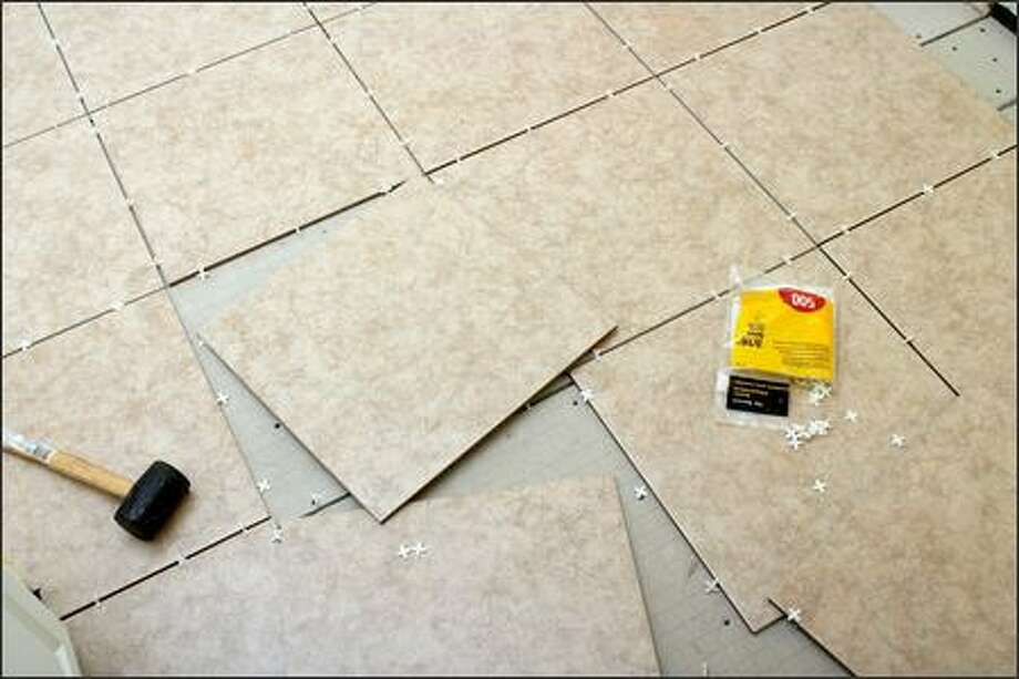 Learn how to install ceramic tile in a free class at Lowe's today at 11 a.m. Reservations are not required. Photo: /