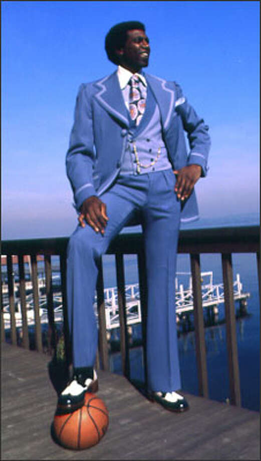 Spencer Haywood poses in 1974.