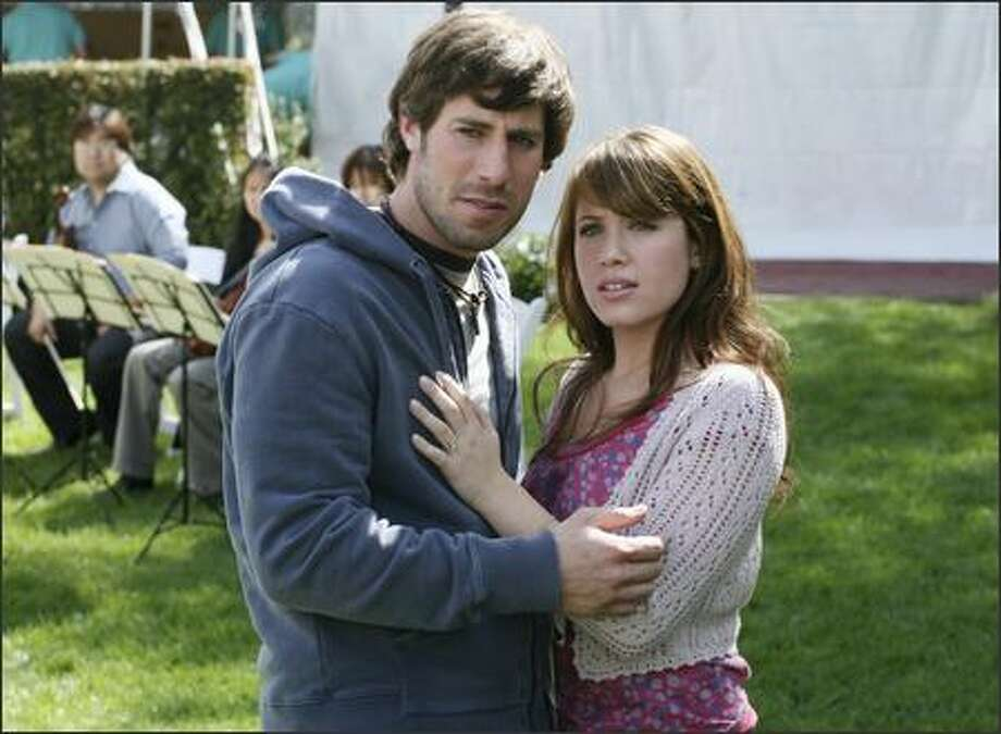 """ABC's """"Big Day"""" (with Josh Cooke and Marla Sokoloff) is likely to bore viewers to death unless they part with the show. (NEAL KAREN/AP) Photo: / Associated Press"""