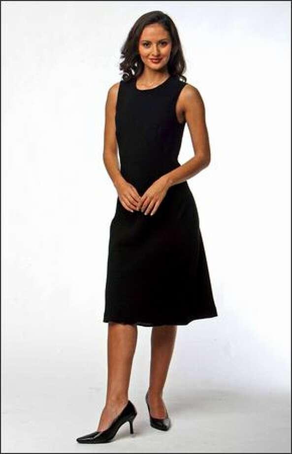 Little Black Dress Is Always Stylish Whatever The Season