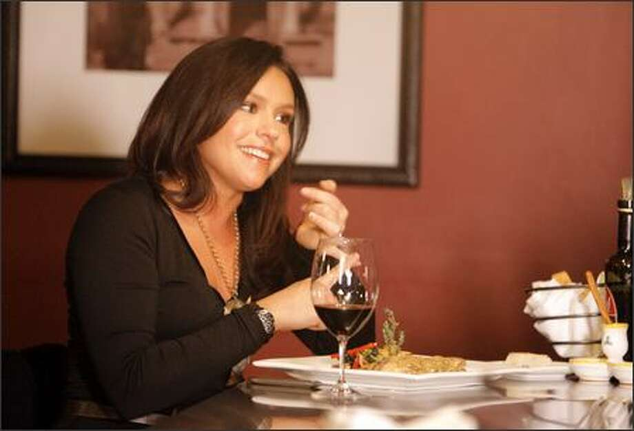 Rachael Ray shot an upcoming segment for her talk show at Volterra Italian restaurant in Ballard. Later she did a signing at University Book Store. Photo: GILBERT W. ARIAS/P-I