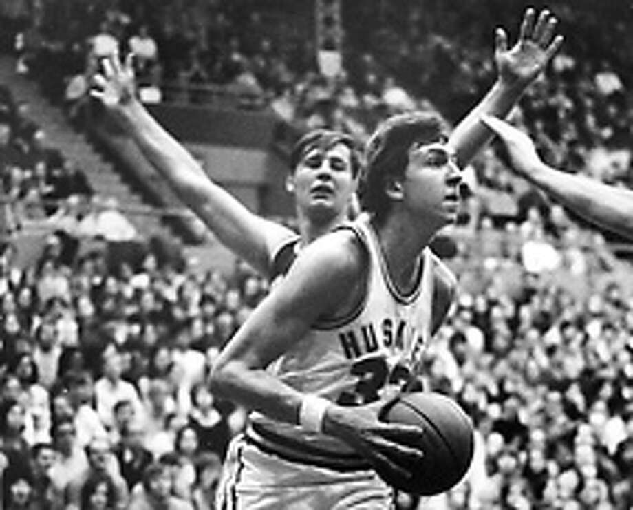 Then: Steve Hawes came to the UW after a call to Duke went unanswered. Photo: P-I FILE/1971