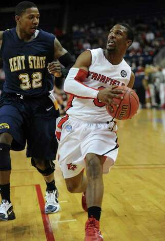 NIT second round; Fairfield University vs.Kent State at the Webster Bank Arena at Harbor Yard in Bridgeport on Sunday, March 20, 2011. Photo: Brian A. Pounds / Connecticut Post