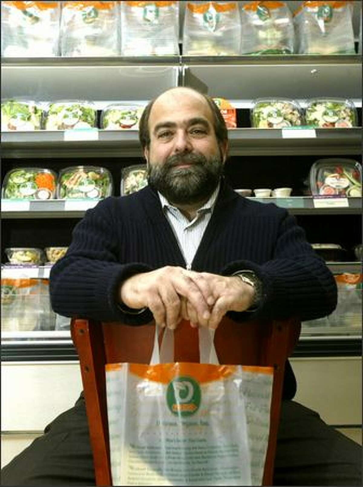 Jason Brown is the chief executive and founder of Organic To Go, which opened its first store in Seattle in 2005.