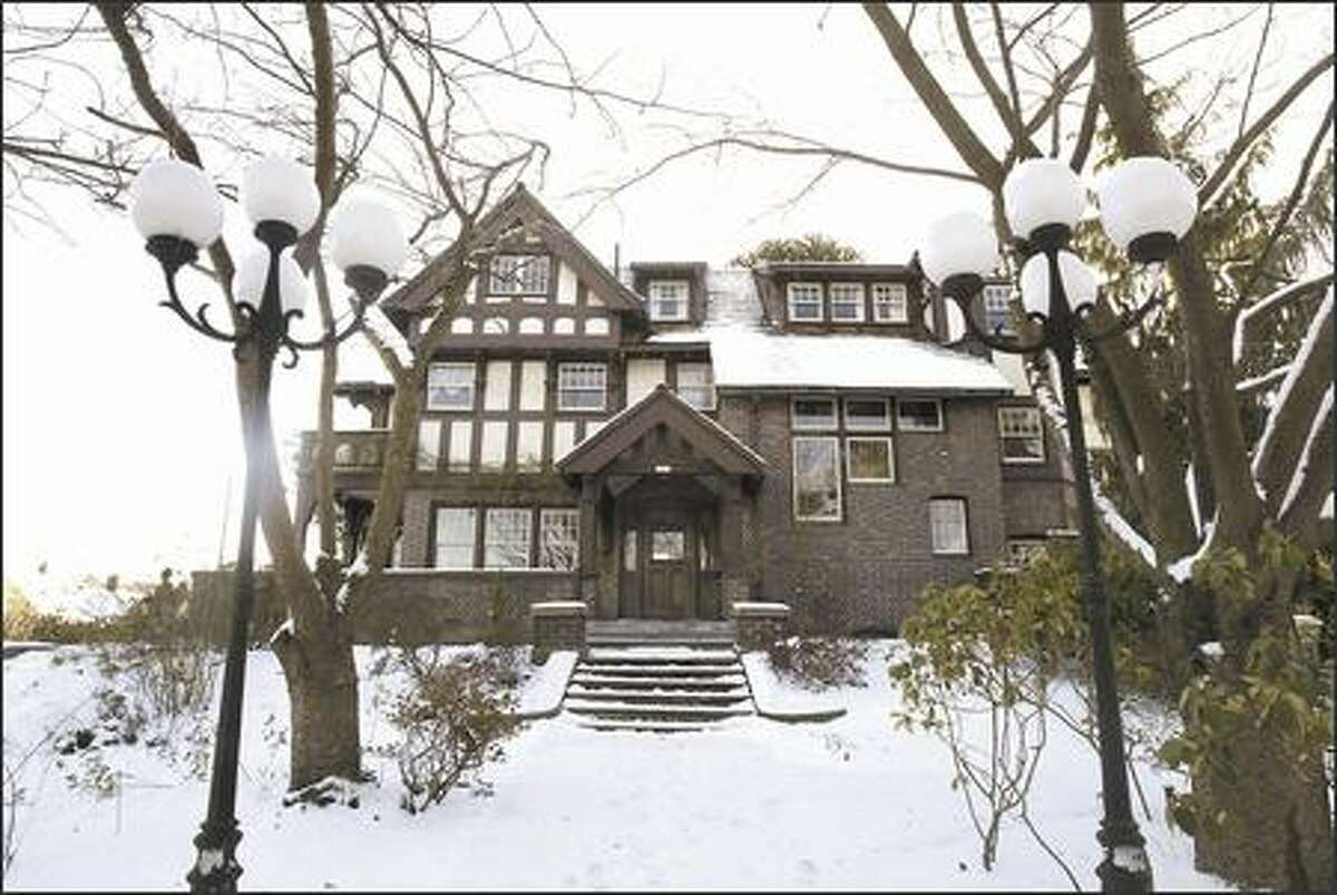 The Hainsworth House at 2657 37th Ave. S.W., a registered historic landmark, is on the market for $1.59 million.