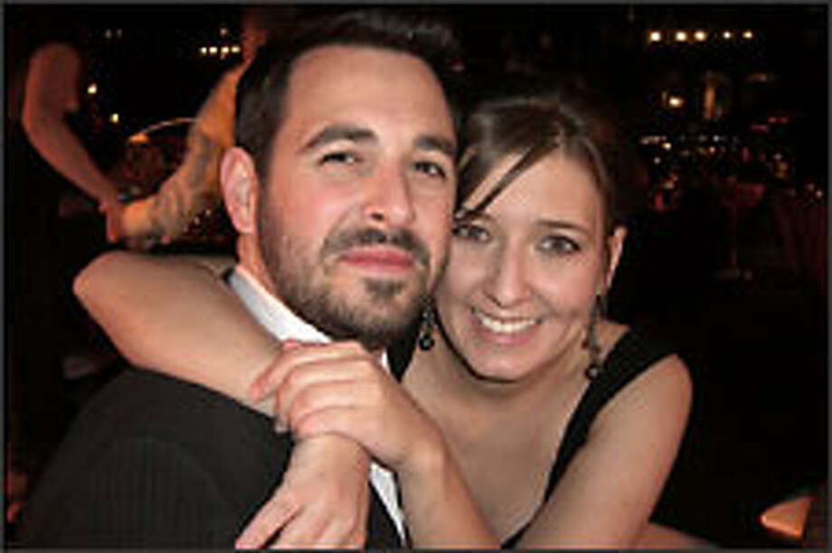 Rand Fishkin proposed on TV to Geraldine DeRuiter. Photo: Rand Fishkin