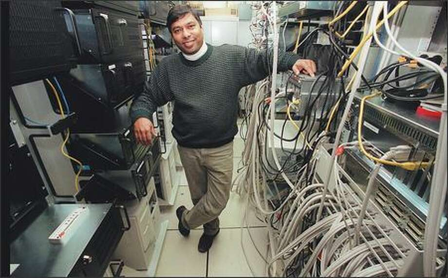 Intelius CEO Naveen Jain is an alumnus of IIT. Photo: / P-I File