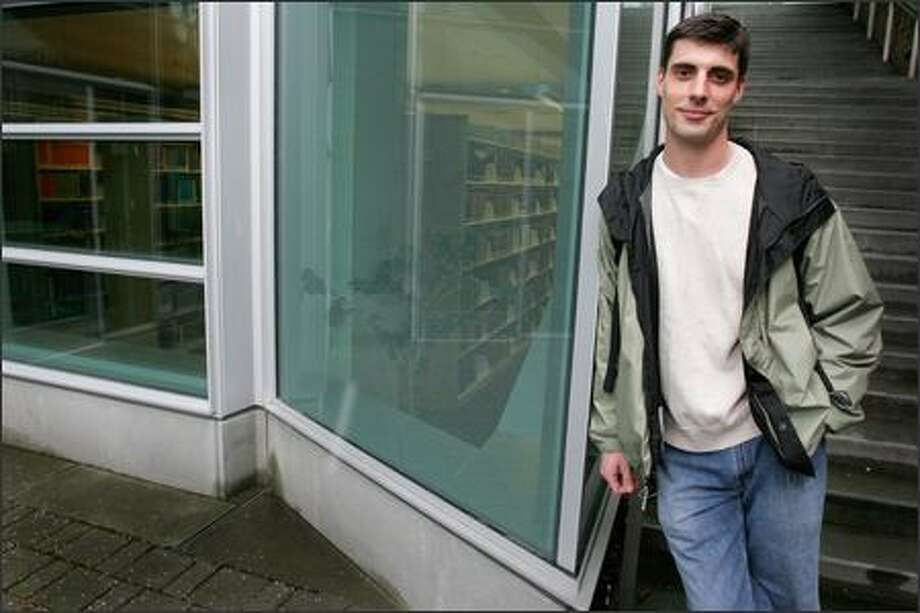 Army veteran Daniel Bugbee is pushing to expand student waivers to include graduate school. Photo: Meryl Schenker/Seattle Post-Intelligencer