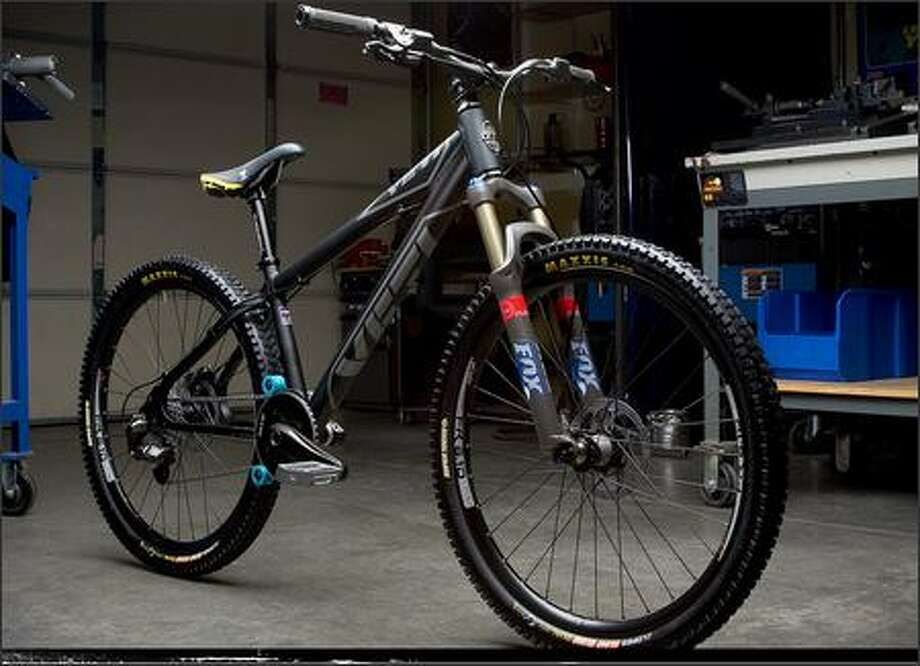 Brett Wolfe's stolen mountain bicycle is a customized version of this Yeti model. It has specialized brakes and a custom front hub and is valued at $1,700. Photo: /