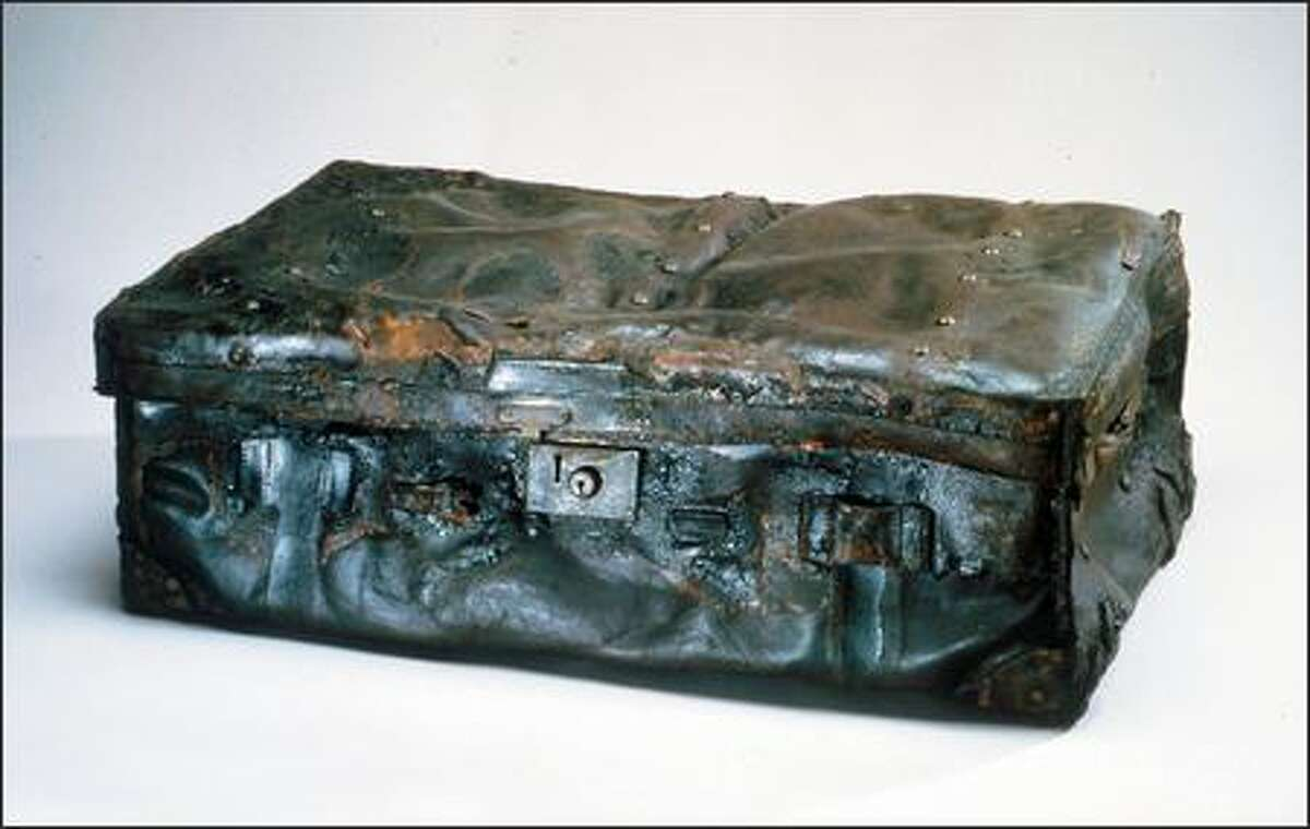 This leather trunk is one of the 281 artifacts that will be on display during the exhibition.
