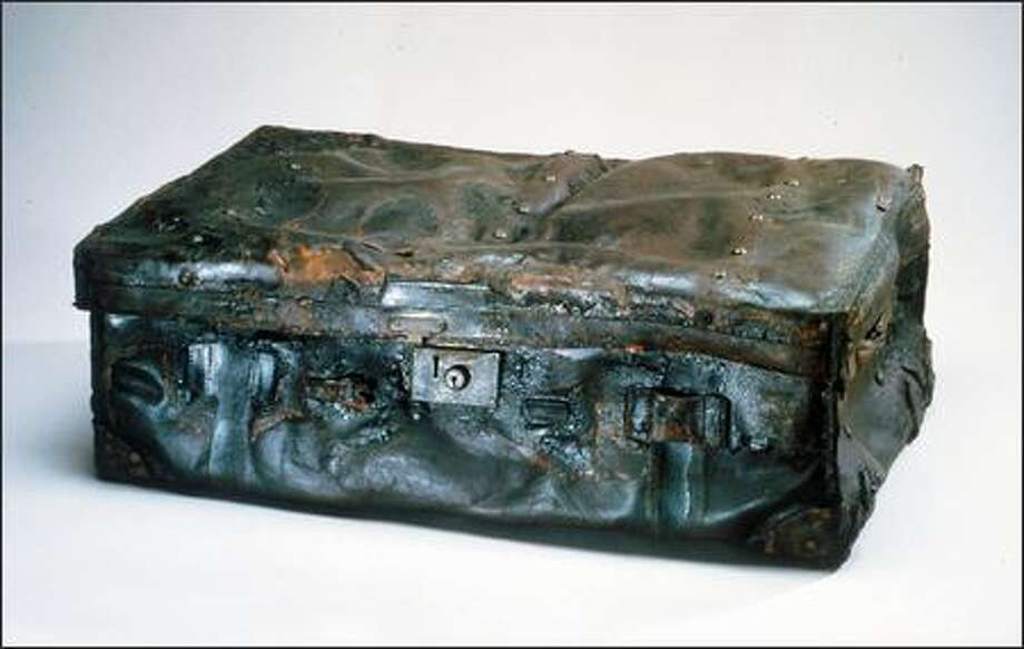 This leather trunk is one of the 281 artifacts that will be on display during the exhibition. Photo: / RMS Titanic Inc.