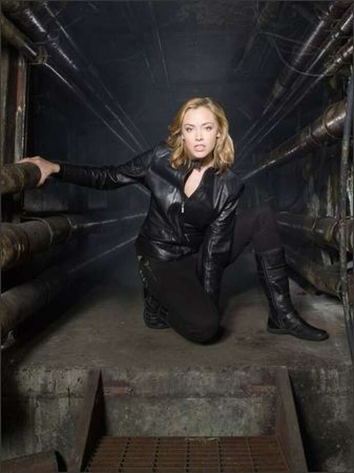 "Kristanna Loken isn't given much to work with in ""Painkiller Jane."" Photo: / Sci-Fi Channel"
