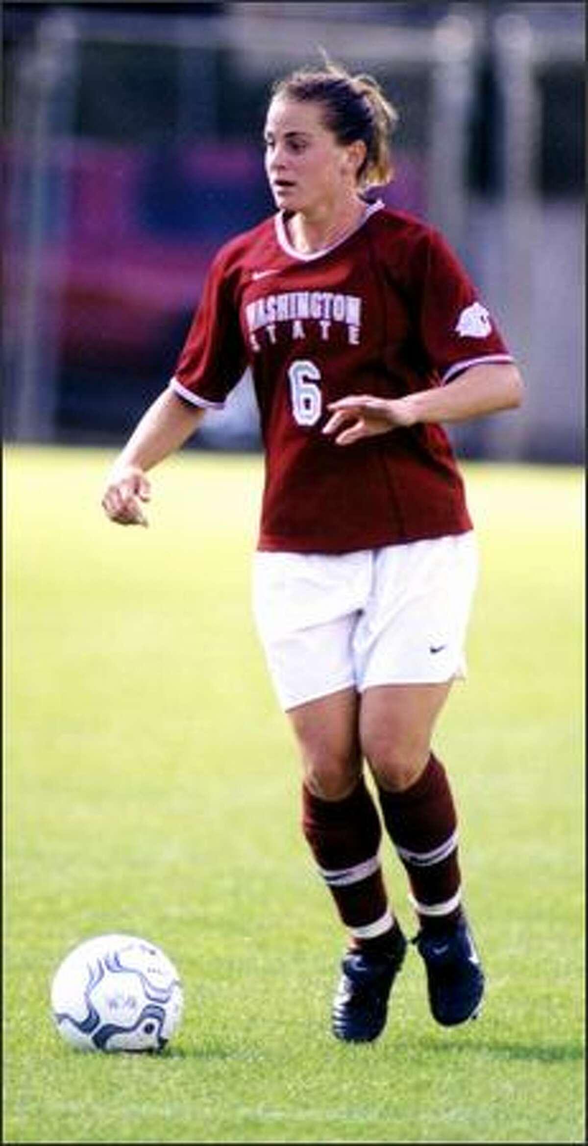 Elizabeth Duncan had 68 career starts as a WSU soccer player.
