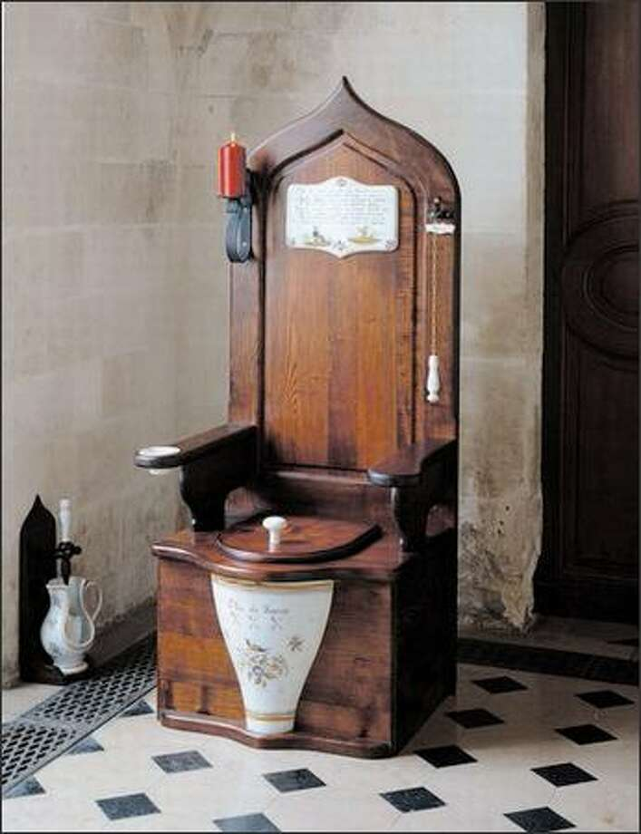 You don't have to be Tina Turner to buy a Dagobert toilet, but you may need her income. The faux 18th-century throne costs $12,182. Photo: /