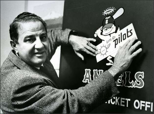 In 1968, Vanni was in his final year as general manager of the Seattle Angels. Photo: / Seattle Post-Intelligencer