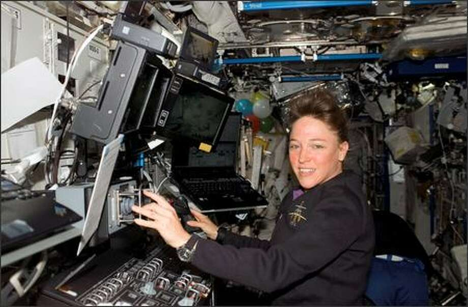 Lisa Nowak, who flew to the International Space Station in July, has since been charged with attempted kidnapping and burglary.  View related video Photo: / NASA