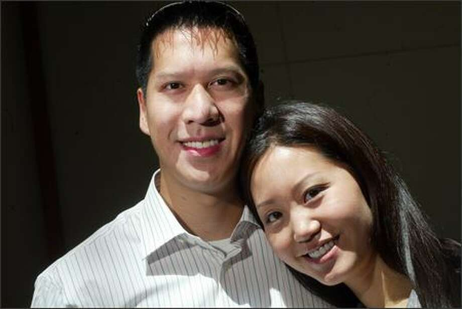 Alice Lee and Kevin Yam plan to marry in Bellevue on July 7. Photo: Karen Ducey/Seattle Post-Intelligencer