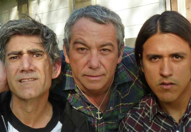 Mike Watt (center), who is best-known as the bassist for the legendary punk rock band, the Minutemen, performs with his newest band, The Missingmen, at Daniel Street in Milford. He will share the bill with indie rock titan Thurston Moore, a native of Bethel. Photo: Contributed Photo / Connecticut Post Contributed