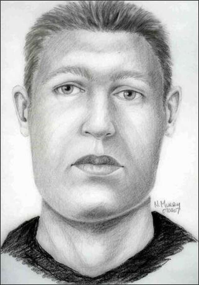This is a sketch that shows what investigators believe is a representation of a man whose remains were found in Redmond last week.