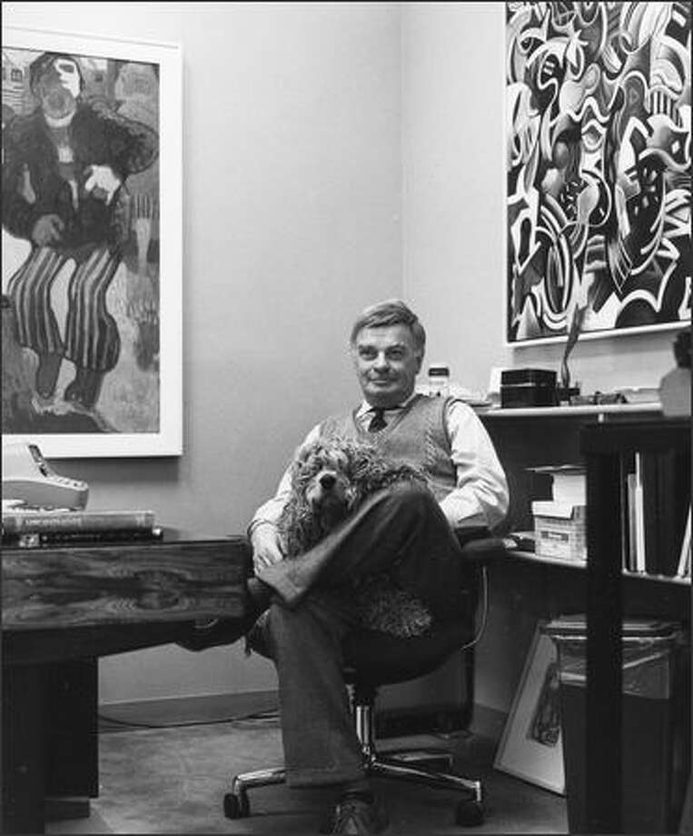Gordon Woodside opened Seattle's oldest gallery in 1961 and outlived most of his favorite artists. Photo: / Seattle Post-Intelligencer