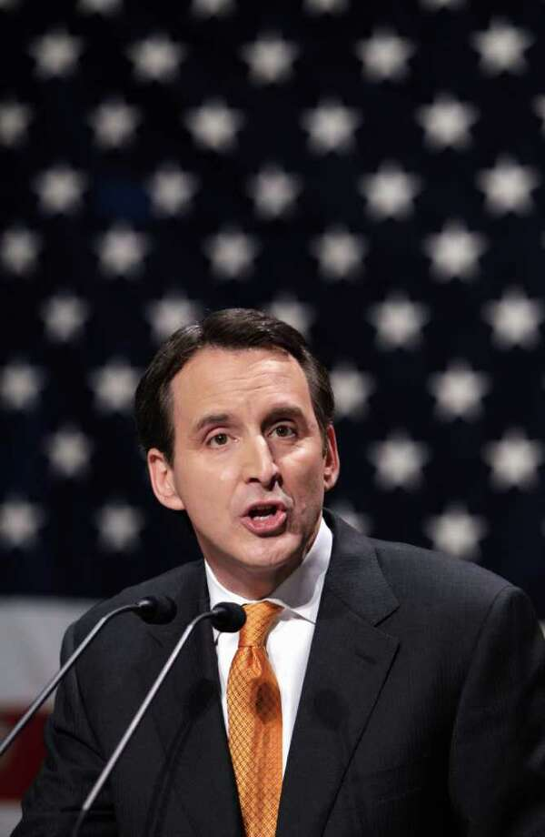 FILE - In this March 7, 2011 file photo, former Minnesota Gov. Tim Pawlenty speaks in Waukee, Iowa. Pawlenty, struggling for name recognition against better-known Republicans eying the presidency, told supporters on Monday that he will take the first formal step toward seeking the nomination, The Associated Press has learned.  (AP Photo/Charlie Neibergall, File) Photo: Charlie Neibergall